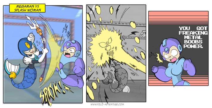 Megaman upgrade