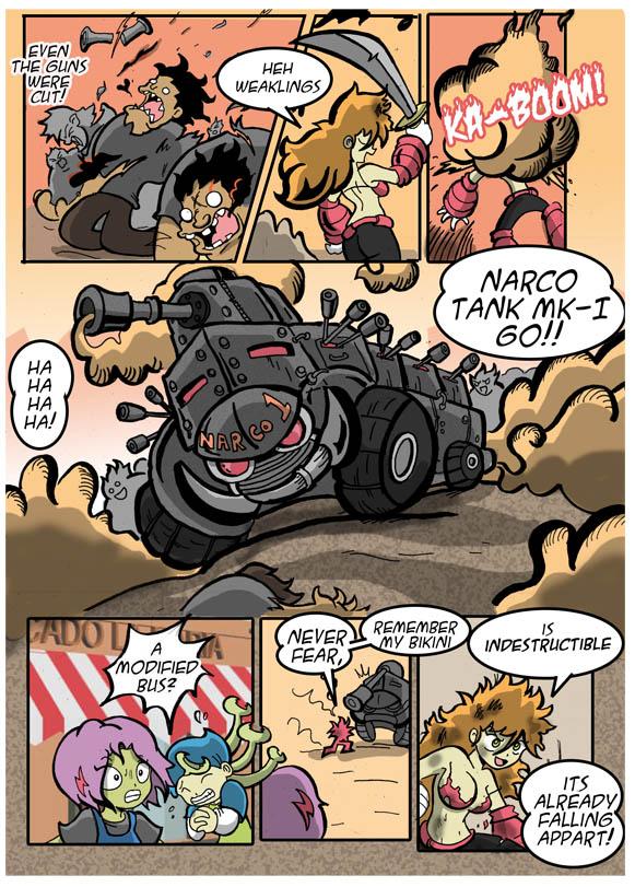 vs Narco Tank
