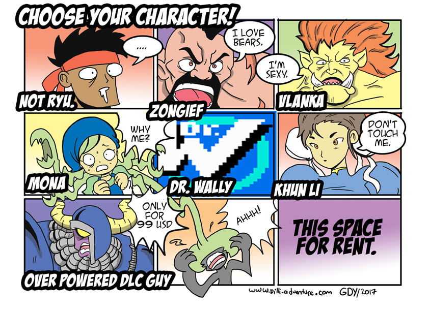 choose your character again