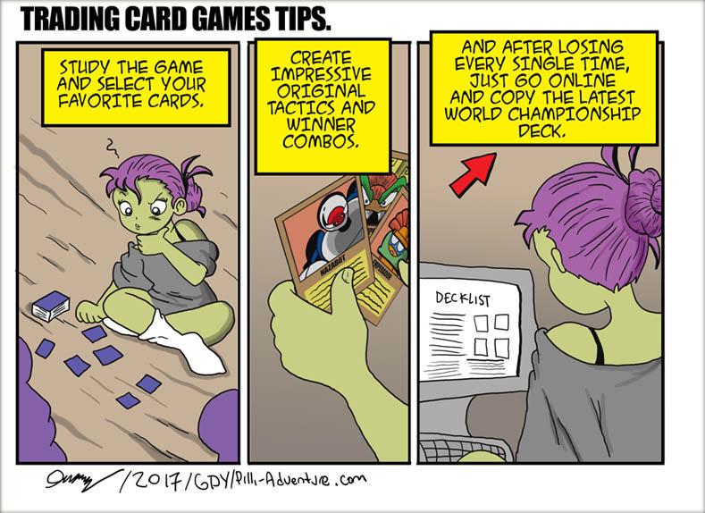 Card Games (filler strip)