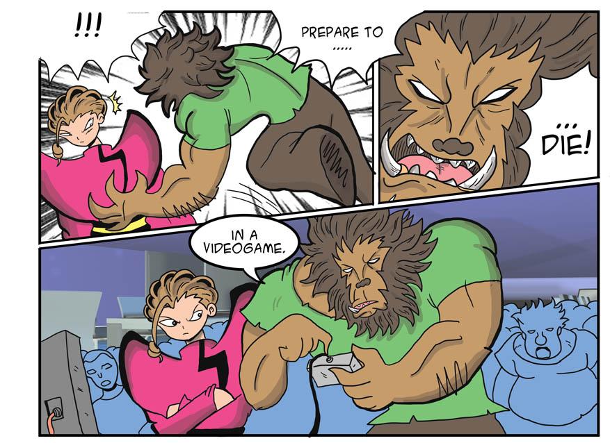 vs wolfman