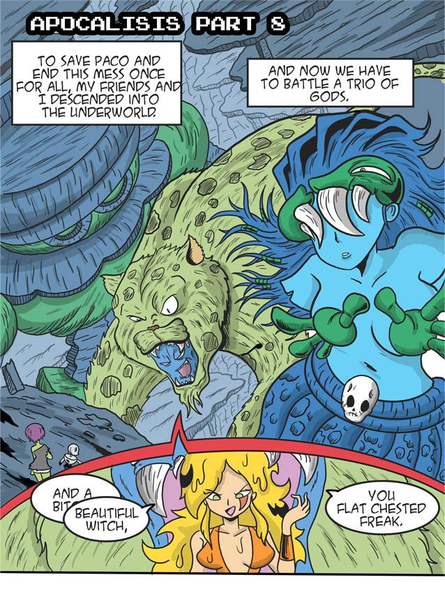 Apocalipsis part 9 page 1 .- Gods among Us