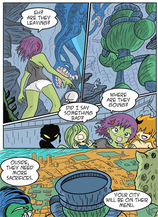 Apocalipsis ch9 page 8. Escape